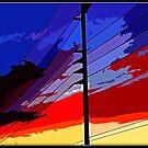 Monster Sunset by Chet  King