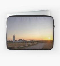 Cape Cod Lighthouse at Sunset Laptop Sleeve