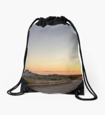 Cape Cod Lighthouse at Sunset Drawstring Bag