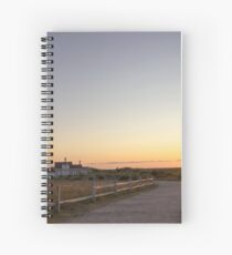 Cape Cod Lighthouse at Sunset Spiral Notebook