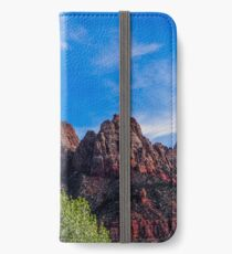 Zion National Park - The Altar of Sacrifice iPhone Wallet/Case/Skin