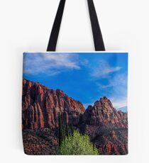 Zion National Park - The Altar of Sacrifice Tote Bag