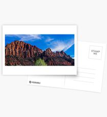 Zion National Park - The Altar of Sacrifice Postcards