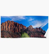 Zion National Park - The Altar of Sacrifice Poster