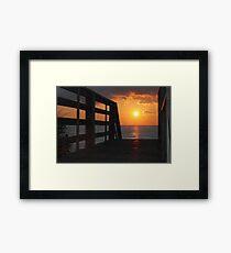 Just steps away Framed Print