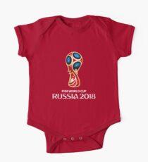 2018 Coupe du Monde Russie Logo Bodies - Manches courtes
