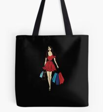 queen is on a shopping tour Tote Bag