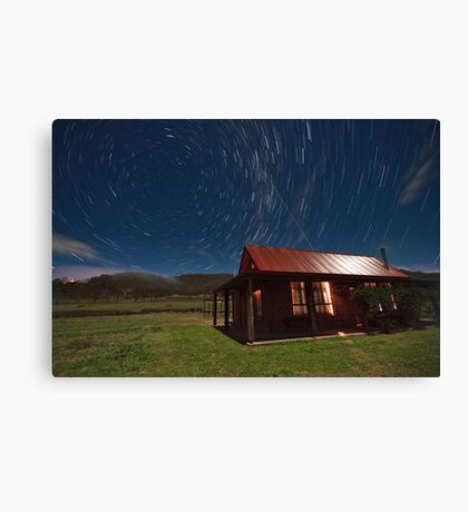 Higher Country Canvas Print