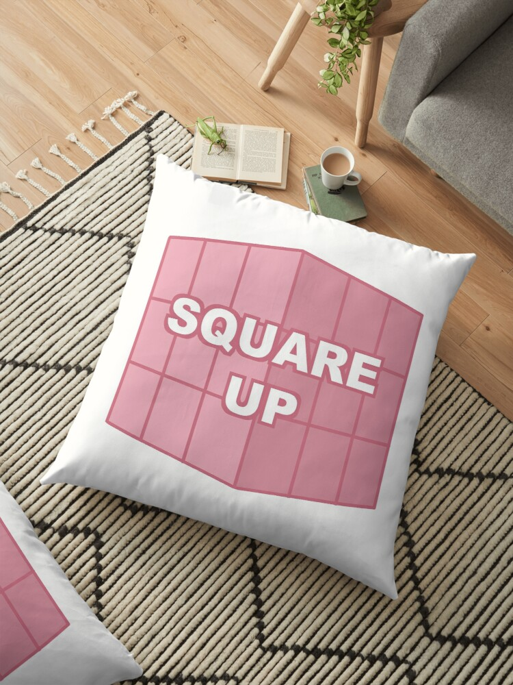 'BLACKPINK- SQUARE UP' Floor Pillow by Rayne j