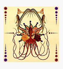 Octopus Chaos Photographic Print