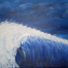 The First Big Wave by Beverley  Johnston