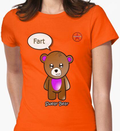 Geek Girl - SwearBear - Fart T-Shirt