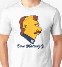 Don Mattingly Sideburns Unisex T-Shirt