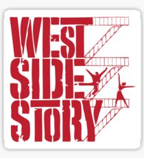 West Side Story Stairs Sticker