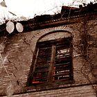 Behind the Dark Window by Wini Minerd
