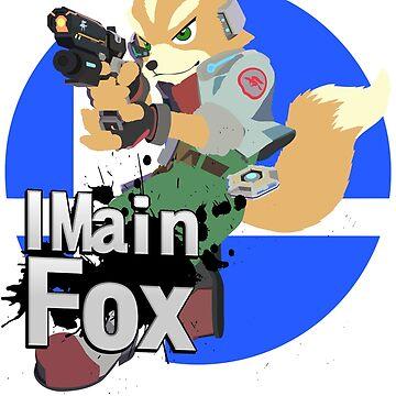 Super Smash Bros. Ultimate - I Main Fox by PrincessCatanna