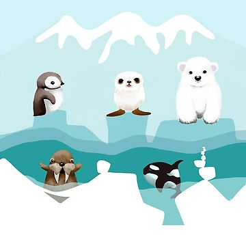 Arctic Friends by karin