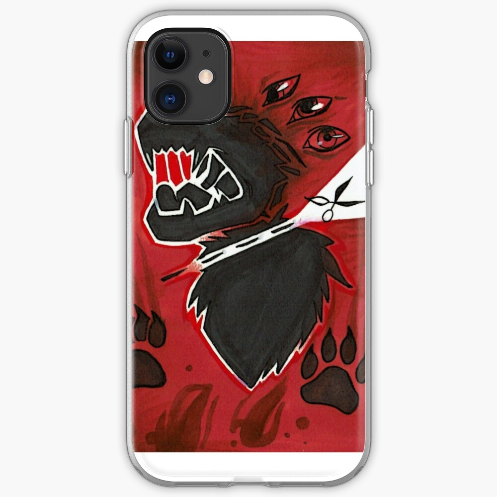 All bark iPhone Soft Case