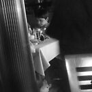 Boy at the restaurant  by Isa Rodriguez