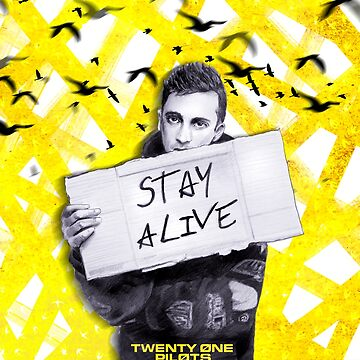TØP - Tyler Joseph Stay Alive  by Dacdacgirl