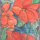 Bees, Flowers and Love by Dottie Phelps   Visker