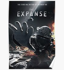 The Expanse Astronaut Poster