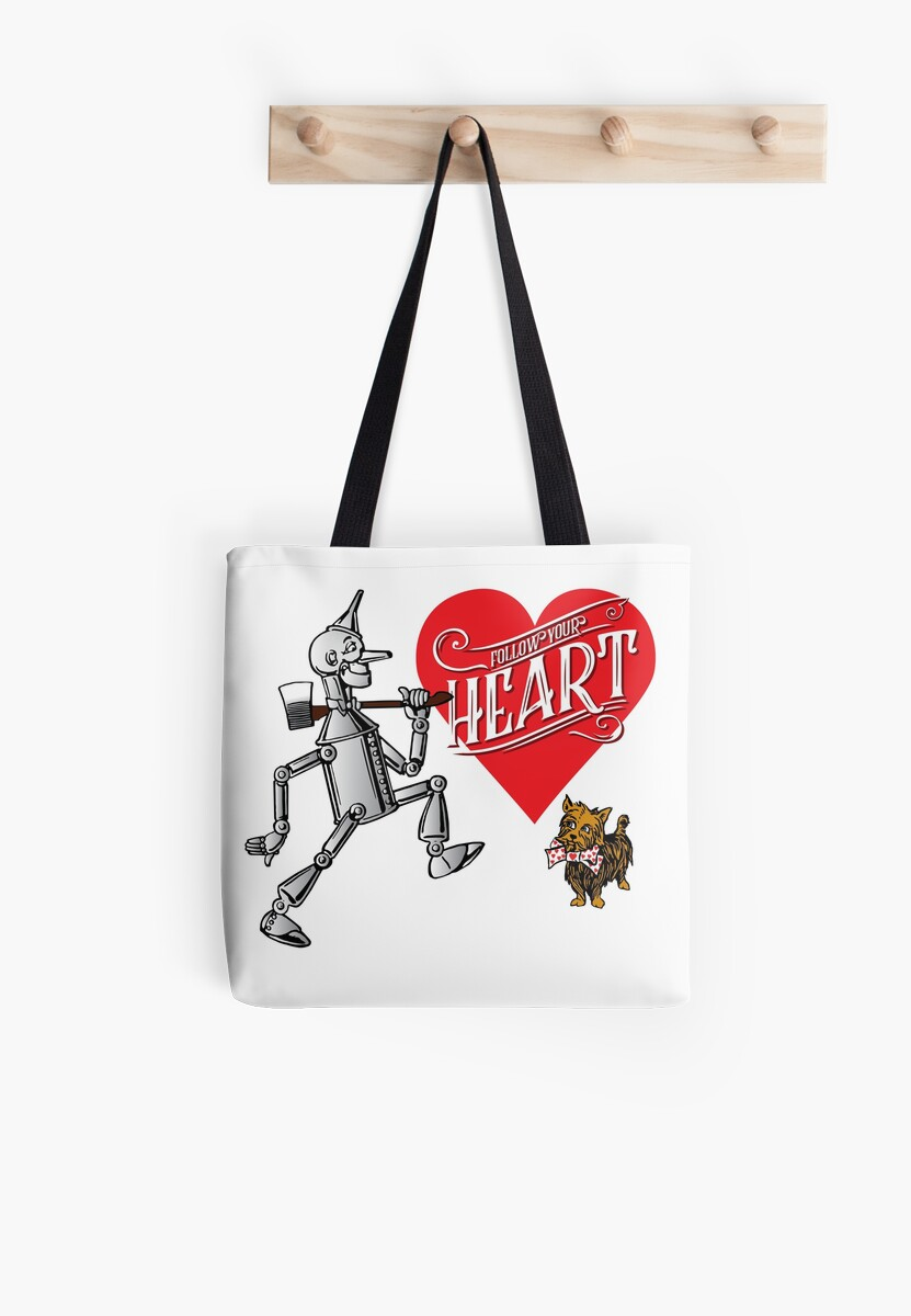 Tin Man T-shirt Follow Your Heart Tee Cute Wizard of Oz Gift The Wizard
