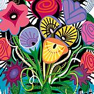Flamenco Flowers by Charles Harker