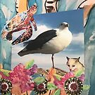 Friends of earth, sky and ocean.  by Dottie Phelps   Visker