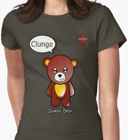 Geek Girl - SwearBear - Clunge T-Shirt