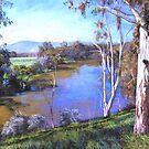 'Upstream, Manse Hill' by Lynda Robinson