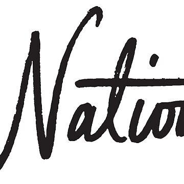 The National script - black by KrisKarlson