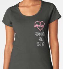 Apink One & Six Women's Premium T-Shirt