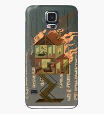 Maison en feu Coque et skin Samsung Galaxy