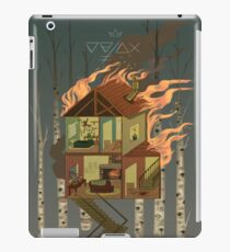 House on Fire iPad Case/Skin