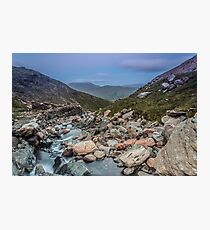 Just off the Miners Path Photographic Print