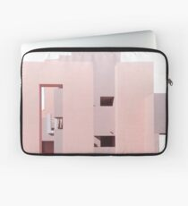 Pink Building Laptop Sleeve