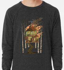 Haus in Flammen Leichtes Sweatshirt