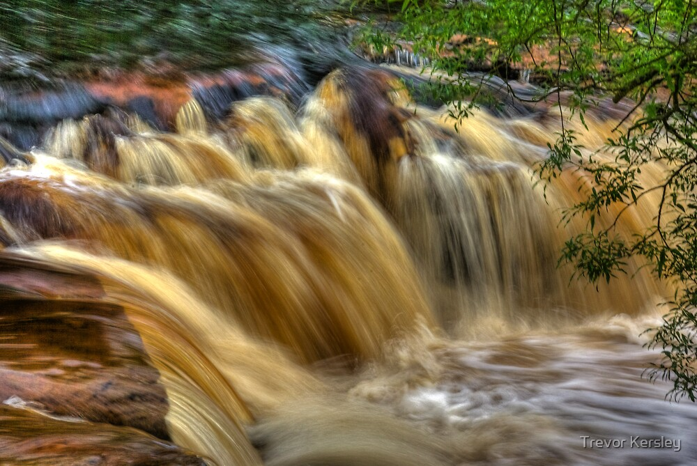 Wainwath Force - Keld 5 of 5 by Trevor Kersley