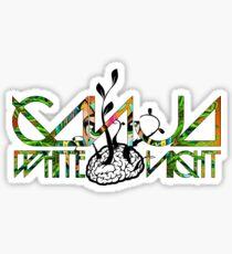 Ganja White Night- Aztec Design Sticker
