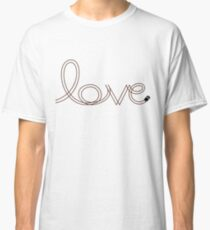 Cute Black Mini Love  Classic T-Shirt