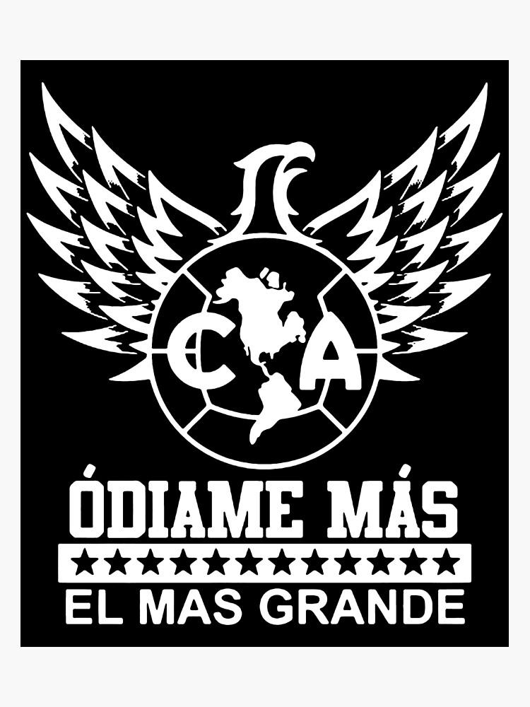 6bb2dc631 Club America Mexico Aguilas Camiseta Jersey Odiame Mas El Mas Grande  skeleton Photographic Print