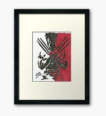 Wolverine - Movie Framed Print