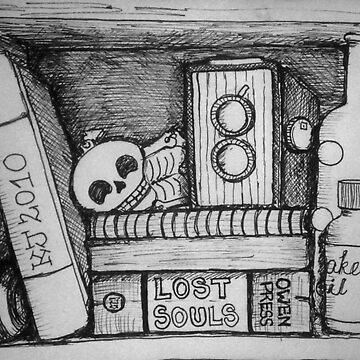 The Non-existent Box - an imaginary vanitas by kjezt