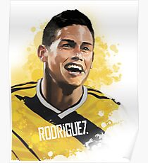 James Rodriguez- Colombia's Finest  Poster