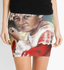 Polynesian Woman Mini Skirt
