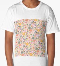 Floral Long T-Shirt