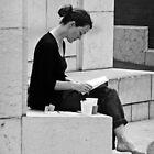 A Quiet Read by daliscar