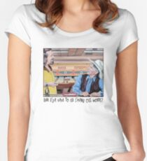 Dude & Stranger Women's Fitted Scoop T-Shirt