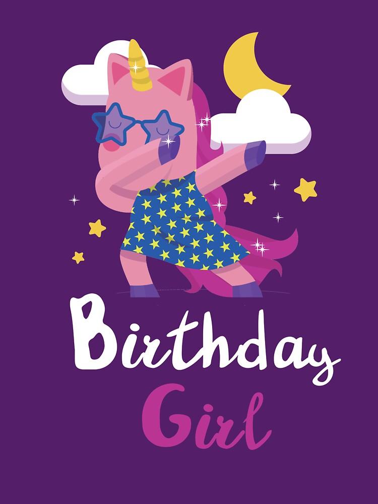 Geburtstag Mädchen Geschenk tupfen von omar77